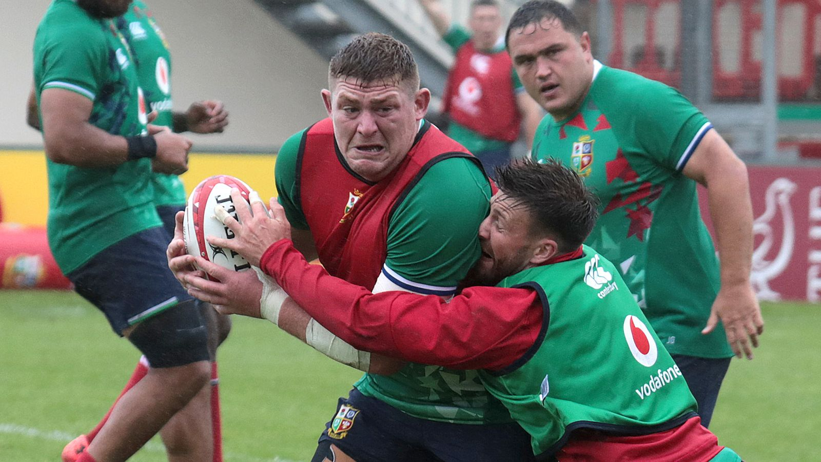 Tadhg Furlong replaces Zander Fagerson in British Irish Lions line-up against Japan