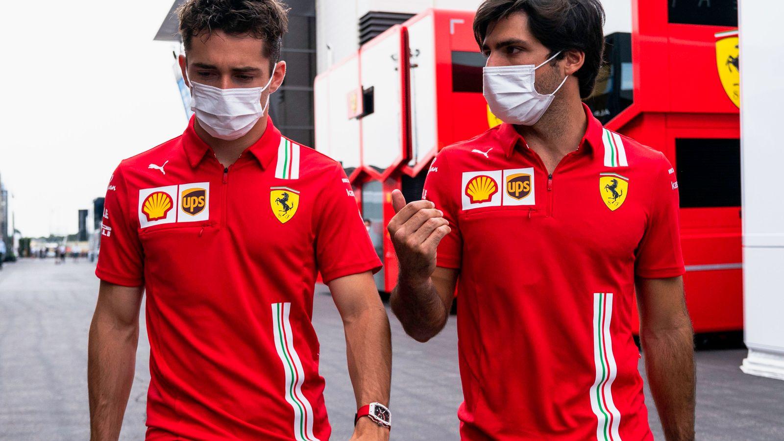 French GP: Carlos Sainz and Charles Leclerc explain Ferrari setback as McLaren move ahead in key F1 fight