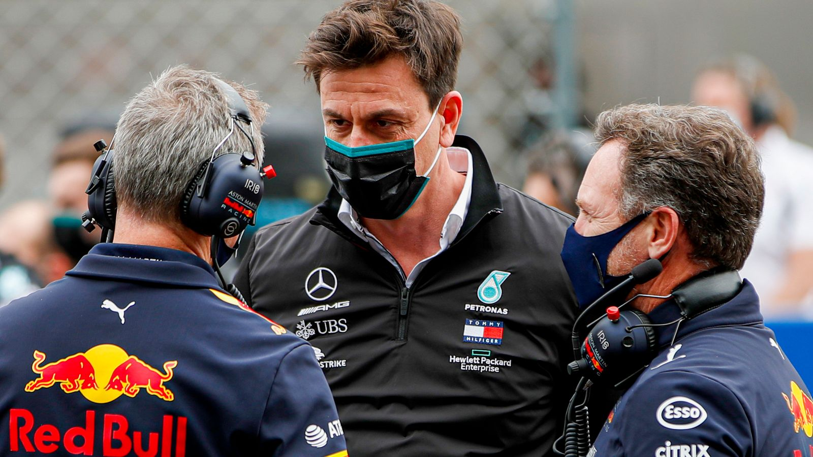Mercedes boss Toto Wolff says Red Bull's Lewis Hamilton collision criticism went 'step too far'