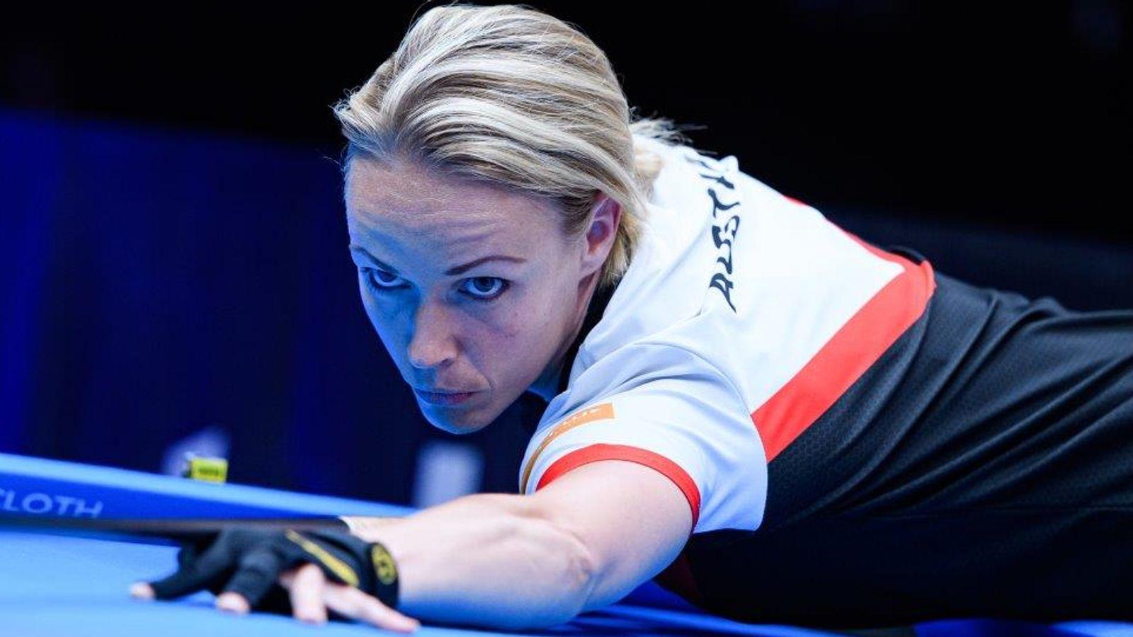 World Pool Championship: Kelly Fisher, Veronika Ivanovskaia and Jasmin Ouschan through to last 64