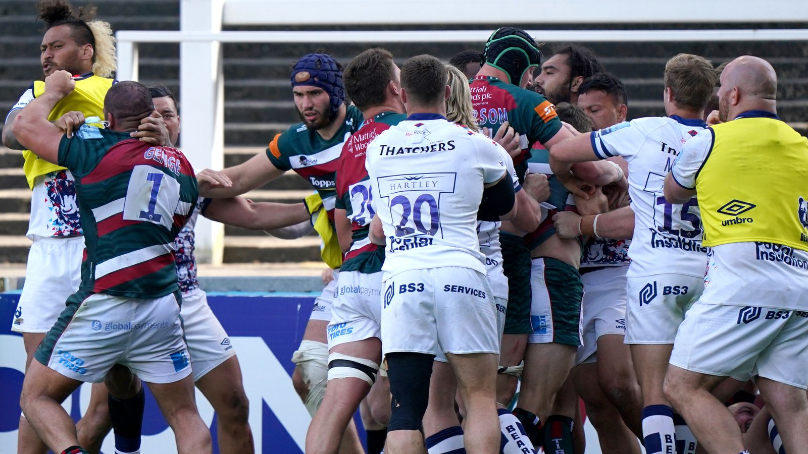 Gallagher Premiership: Late chaos as Bristol Bears beat Leicester Tigers while Tom Willis wins it for Wasps