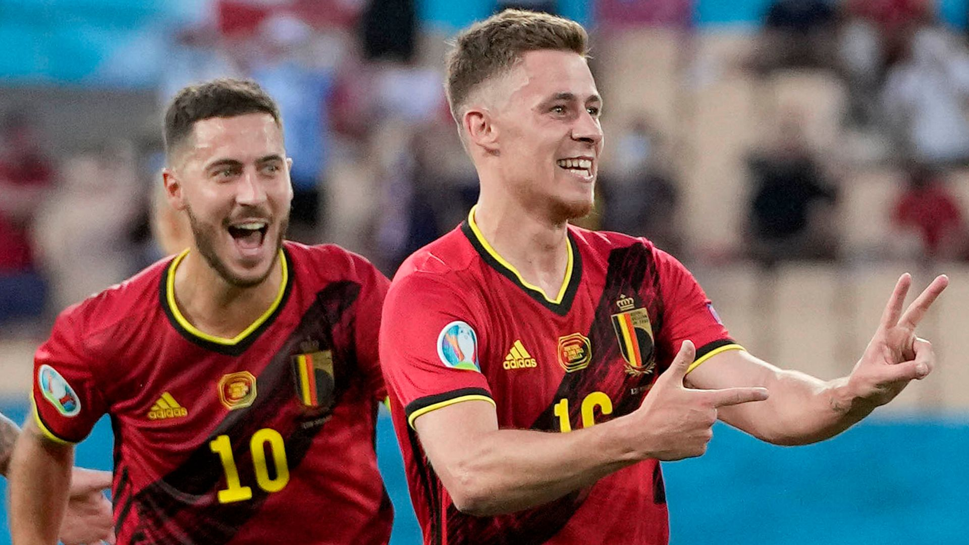 Hazard stunner as Belgium eliminate holders Portugal