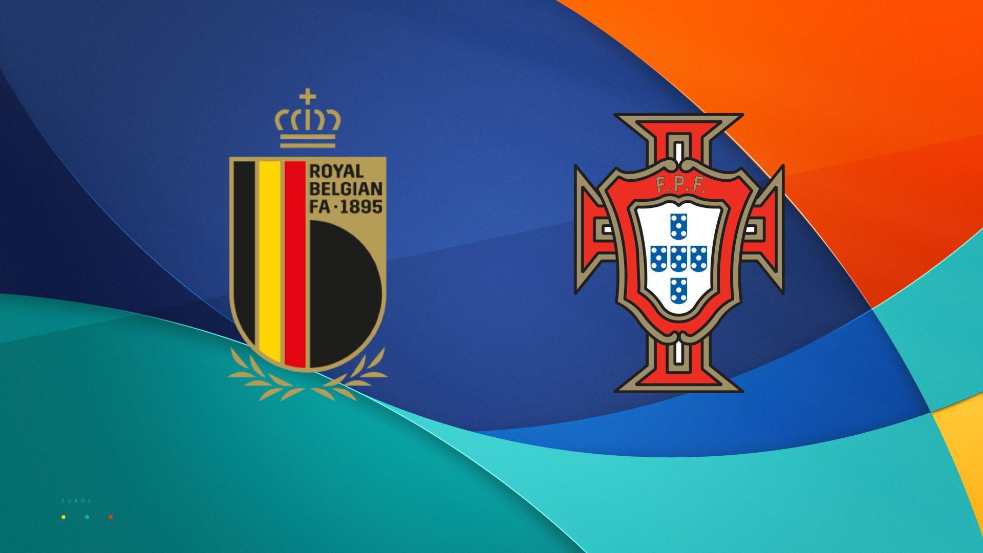 Stats companion: Belgium vs Portugal