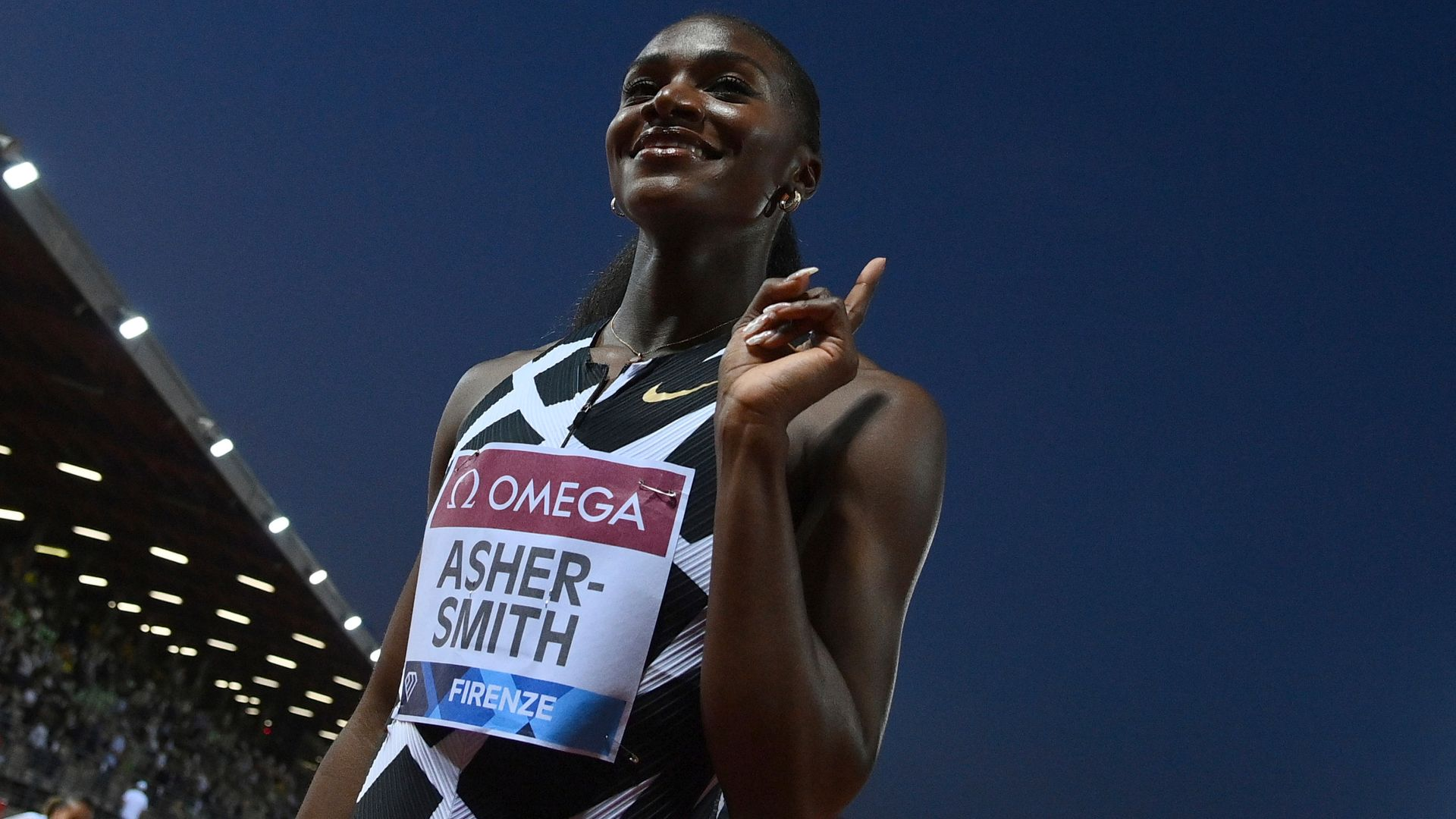 Asher-Smith storms to 200m win in Florence