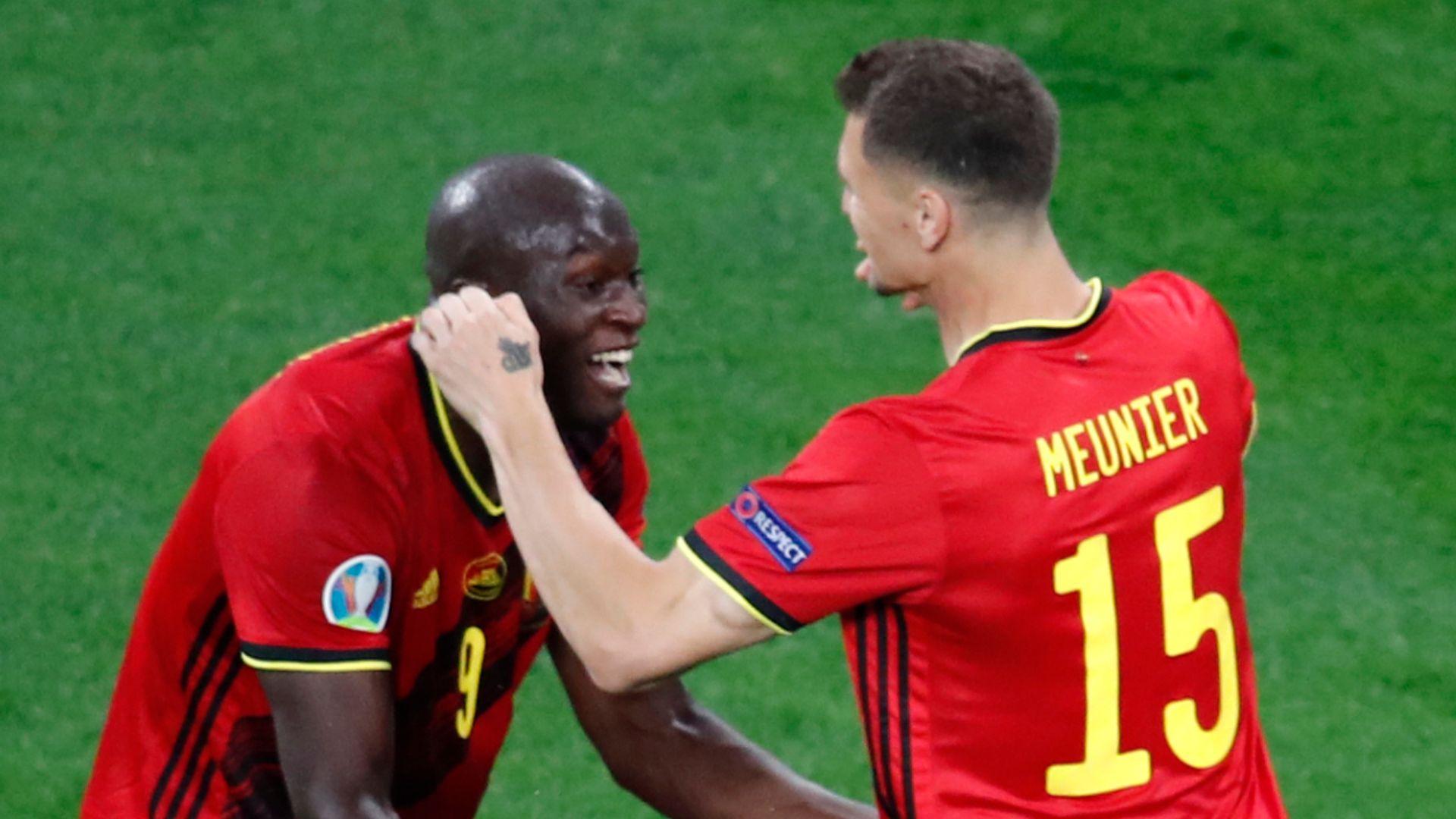 Lukaku scores twice as Belgium ease to win over Russia