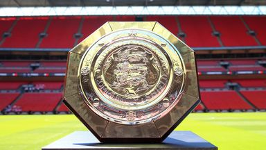Manchester City will be looking to win the Community Shield for the third time in four years