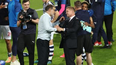 Luke Dowling, pictured with former boss Slaven Bilic, has left West Brom