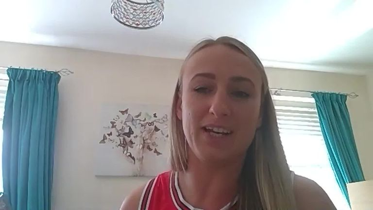 England's Jodie Cunningham says the game against Wales will be a good opportunity to showcase the quality of women's rugby league