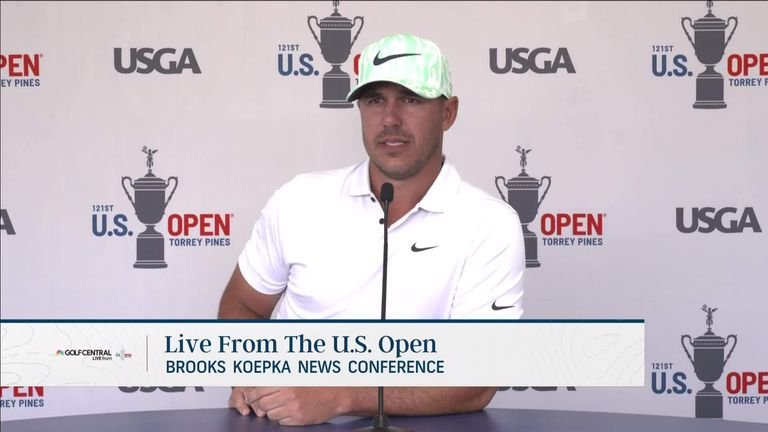 Brooks Koepka believes his rivalry with Bryson DeChambeau is good for the game and insists he isn't concerned about the recent video of him being leaked on social media.
