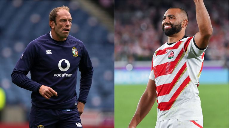 Alun Wyn Jones and Michael Leitch will captain the Lions and Japan respectively at Murrayfield on Saturday