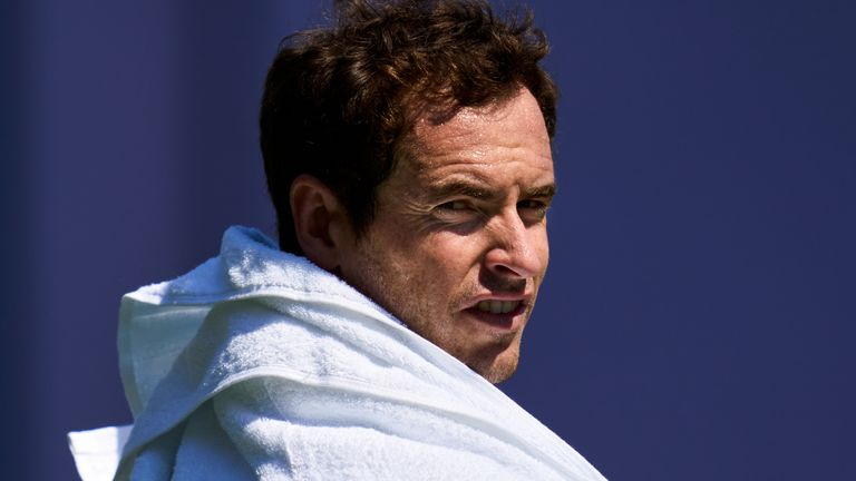 Andy Murray says he is still playing tennis for the love of the game as he