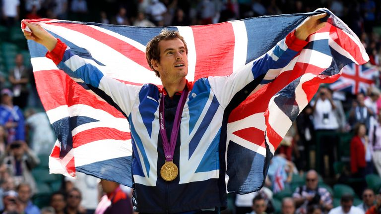 Sir Andy Murray will be competing at his fourth Olympic Games in Tokyo this summer