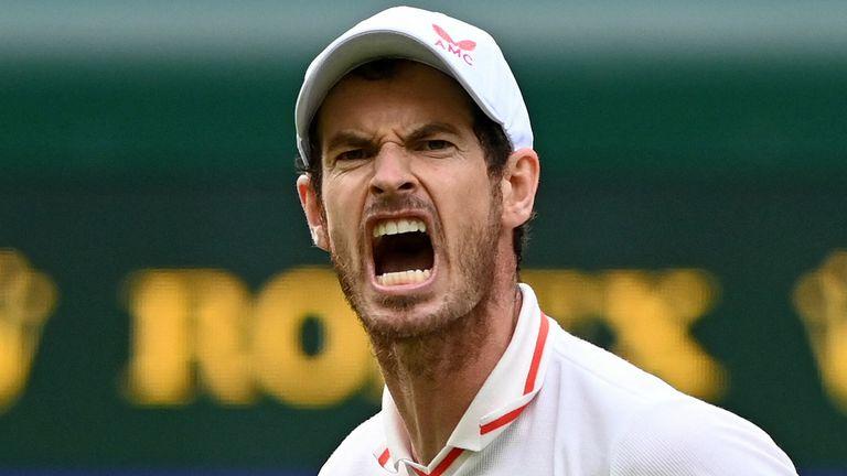 Il britannico Andy Murray ha sconfitto Nikoloz Basilashvili al suo ritorno a Wimbledon