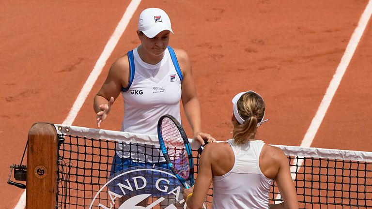 Ash Barty had been in excellent form going into the Grand Slam