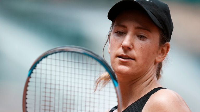 The two-time Grand Slam champion hit out at French Open organisers following her last-16 exit
