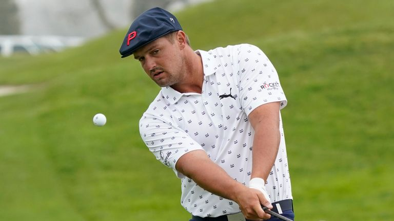 DeChambeau hopes to have many years ahead of him after being inspired by Phil Mickelson
