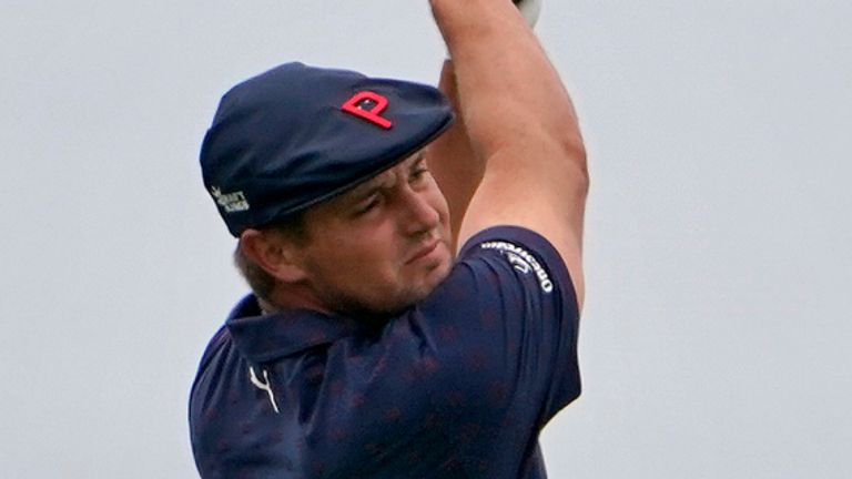 DeChambeau finished six clear of Matthew Wolff for his maiden major victory in last year's US Open