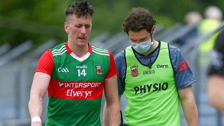 O'Connor pulled up during Mayo's 2-22 to 2-18 win over Clare