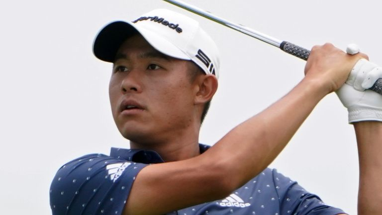 Collin Morikawa fired a high-quality 64 on day two at The Open