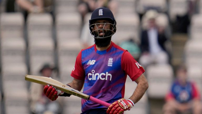 Moeen Ali returned to England's T20 side for the third match of the series against Sri Lanka