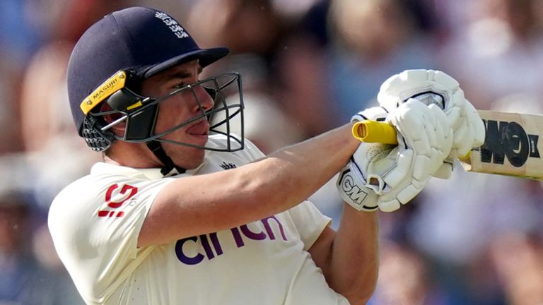 Dan Lawrence was left unbeaten on 81 as England were bowled out for 303