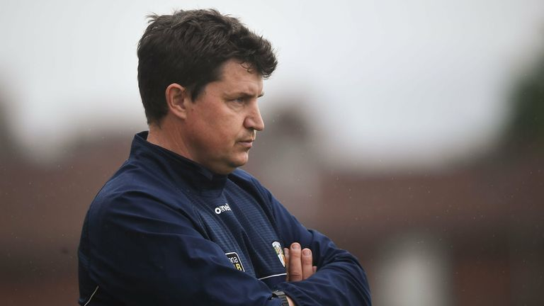 Darren Gleeson took over as Antrim manager at the start of the 2020 season