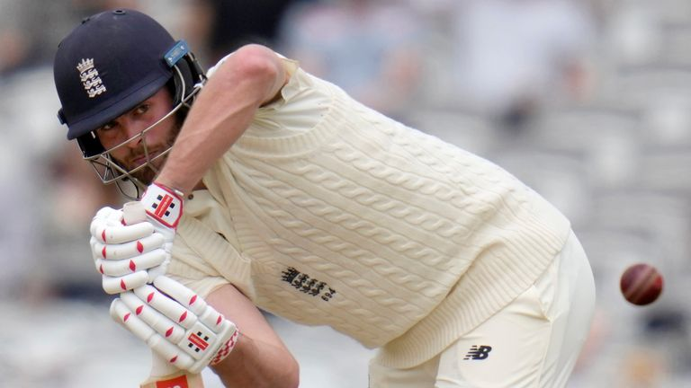 Dom Sibley scored 60 not out from 207 deliveries as England batted out for a draw in the first Test against New Zealand at Lord's