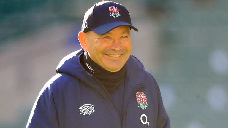 """England head coach Eddie Jones said Sunday was """"a great day for the sport"""""""