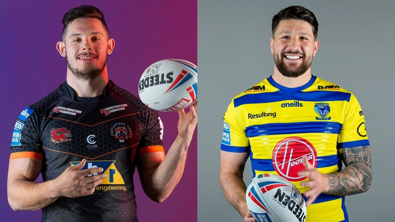 Will Niall Evalds and Cas or Gareth Widdop and Warrington book a Challenge Cup final date this Saturday?