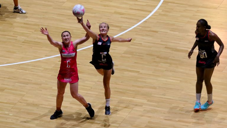 Gabriella Marshall was outstanding in defeat for Saracens Mavericks (Image credit - Ben Lumley)