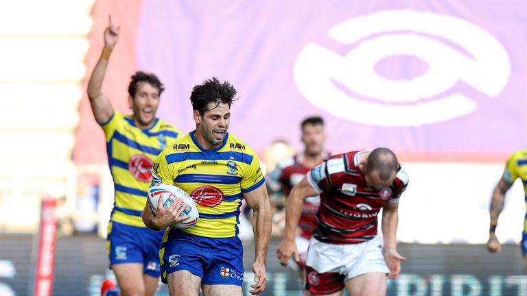 Warrington win at the DW Stadium and hand Wigan their fourth loss on the trot