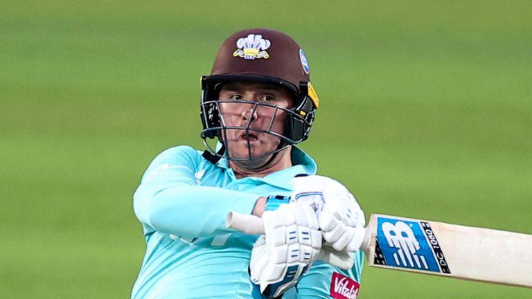 Vitality Blast: Jason Roy fires fifty as Surrey beat Glamorgan for third