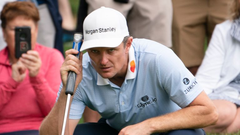 Justin Rose is two off the lead after a 63
