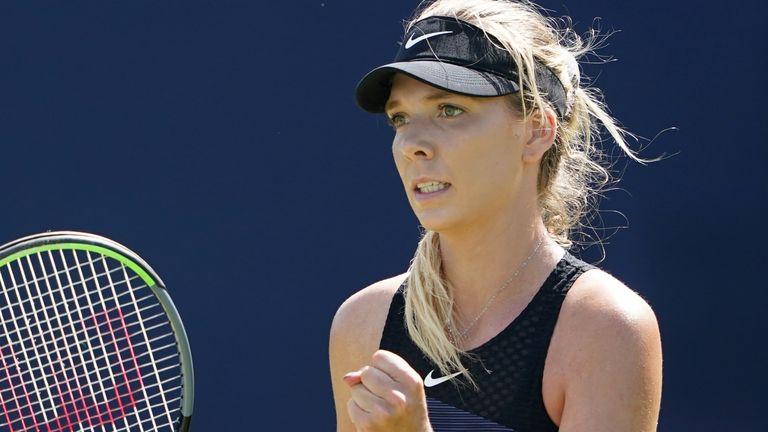 Katie Boulter souffre d'une fracture de stress de la colonne vertébrale qui l'a tenue à l'écart des tournois de tennis de haut niveau pendant la majeure partie de l'année