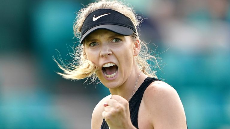 Katie Boulter, who has joined the line-up for Birmingham, suffered a serious back injury in April 2019 which put the brakes on her career