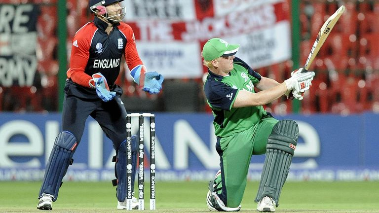 Kevin O'Brien's 50-ball century remains the fastest in ODI World Cup history