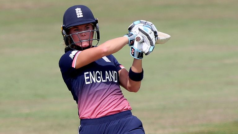 Winfield-Hill has scored one hundred and three fifties in 43 one-day internationals for England