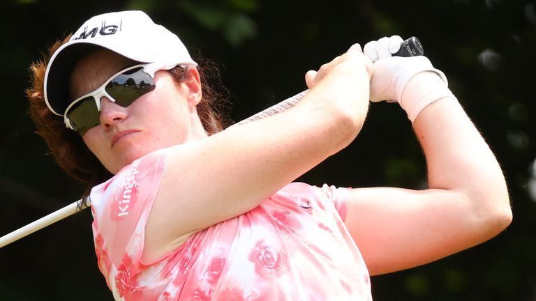 Leona Maguire was looking to become the first Irish player to win on the LPGA Tour