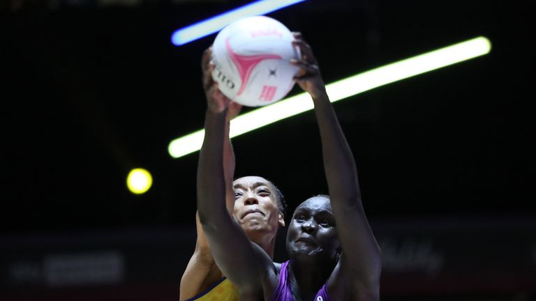 Loughborough Lightning and Team Bath Netball will duel for the 2021 Vitality Netball Superleague title (Image credit - Morgan Harlow)