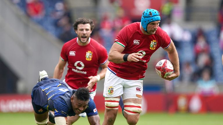 The Lions face South Africa's Lions in their tour opener on Saturday