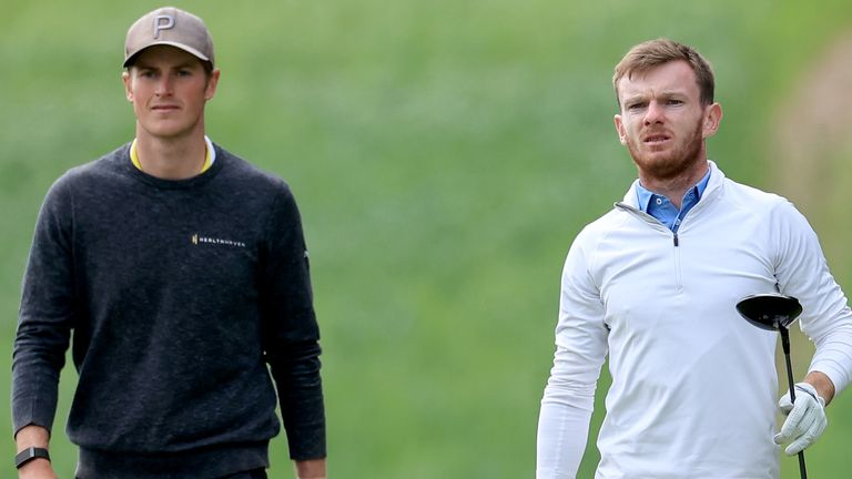 Shepherd (R) will get the opportunity to play in three of the next four majors