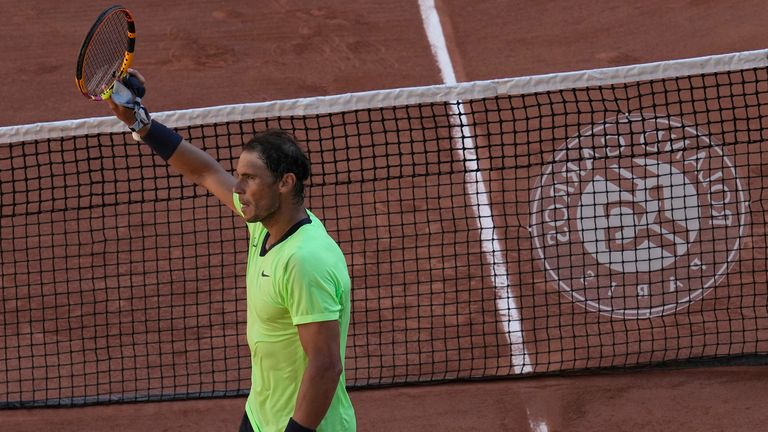 The Spaniard kicked off his latest Roland Garros campaign with a hard-fought straight-sets victory