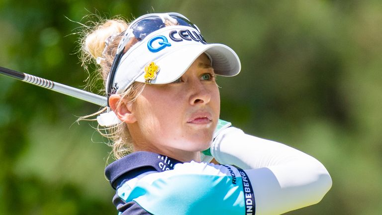 Korda made two eagles in her final-round 68