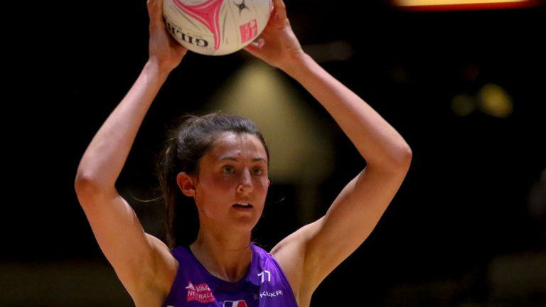 Beth Cobden was outstanding for Lightning against Bath in Round 20 (Image credit - Ben Lumley)
