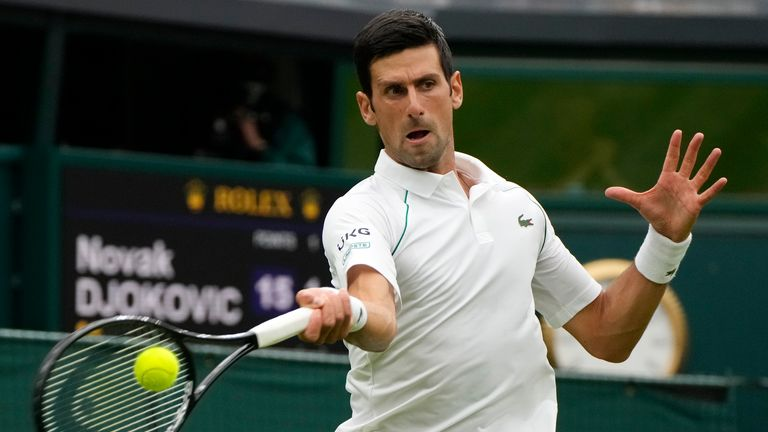 Novak Djokovic fought back from a set down to beat Jack Draper on Day One at Wimbledon