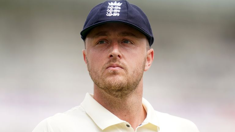 Ollie Robinson took seven wickets on his Test debut at Lord's