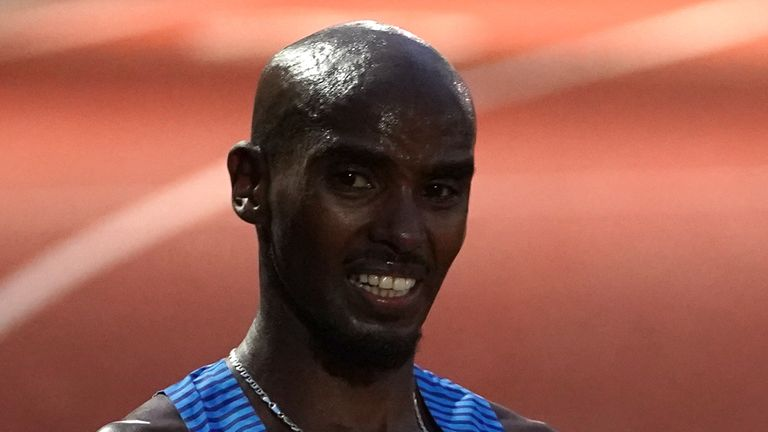 Mo Farah is yet to hit the qualifying standard for the 10,000m after a failed attempt earlier this month