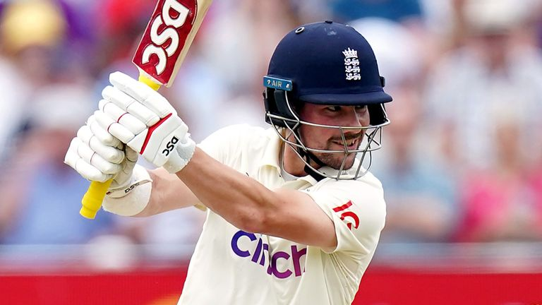 Rory Burns looked in good touch as he made 81 on the back of his ton in the first Test