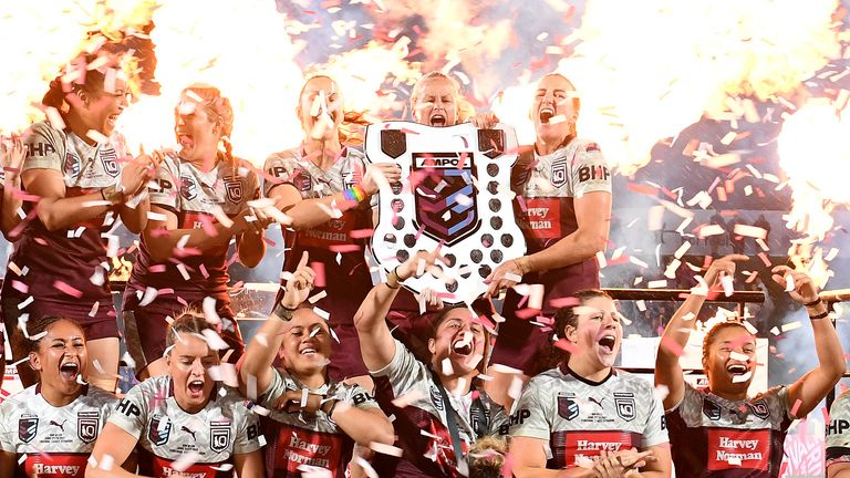 Queensland secured back-to-back Women's State of Origin title on Friday