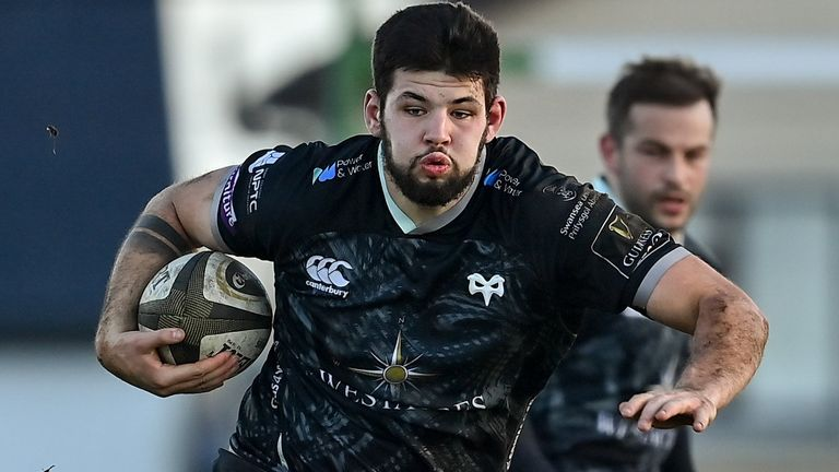 Ospreys' Rhys Davies is in line to make his Wales debut over the summer